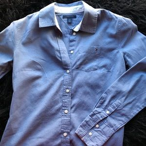 Tommy Hilfiger Blue Button Down
